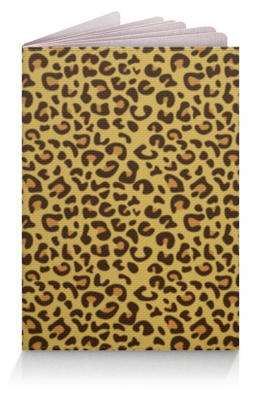 Обложка для паспорта Printio Леопардовый обложка для паспорта printio леопардовый