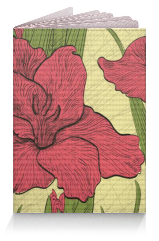 Обложка для паспорта Printio Ирисы ваза ирисы