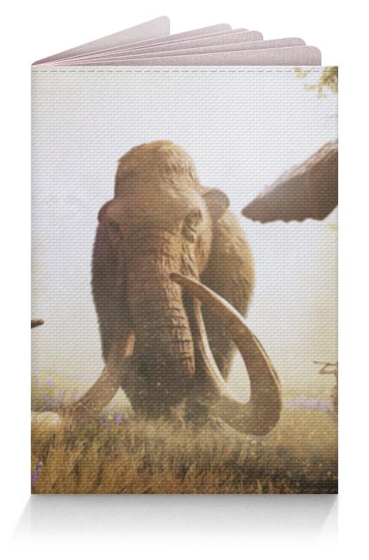 Обложка для паспорта Printio Мамонт (фар край)