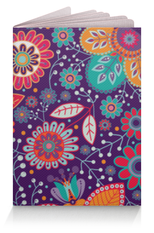 Обложка для паспорта Printio Цветочная поляна ароматизатор fouette ecology цветочная поляна мембранный