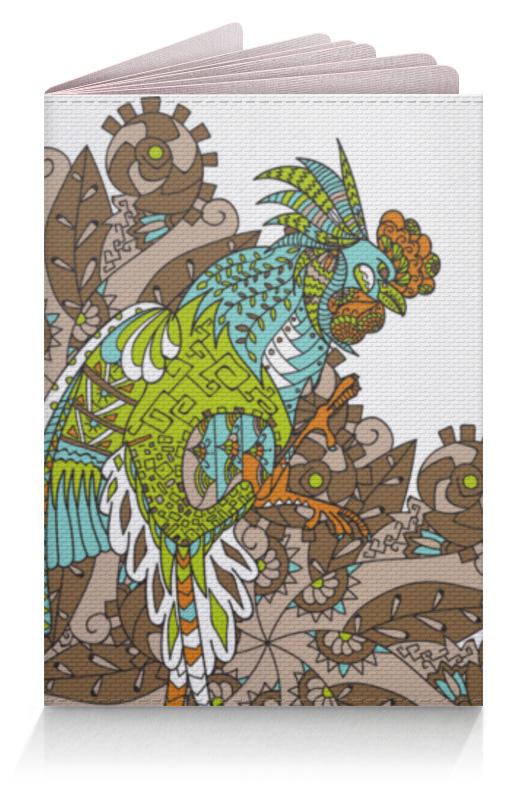 Обложка для паспорта Printio Петушиное разноцветие футболка print bar петушиное разноцветие