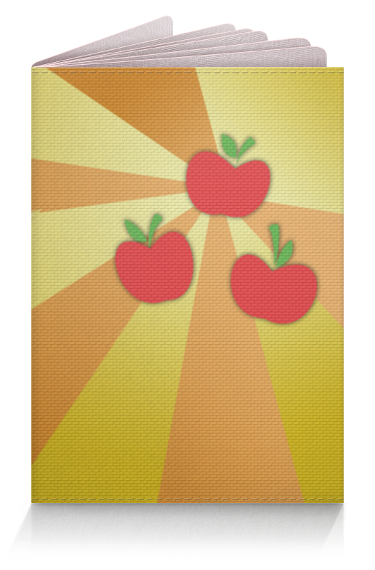Обложка для паспорта Printio Applejack color line