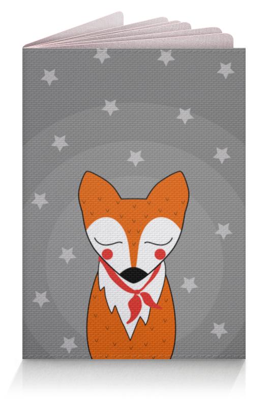 Обложка для паспорта Printio Лис под звёздами рюкзак с полной запечаткой printio лис под звёздами