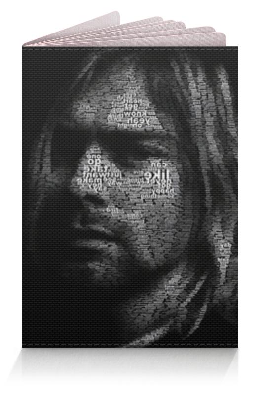 Printio Курт кобейн обложка для паспорта printio стикеры рок группы