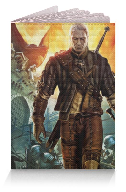 Обложка для паспорта Printio Ведьмак семушка чернослив 300 г