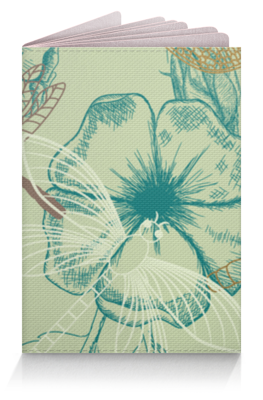 Обложка для паспорта Printio Флора и фауна цветы гранд флора gf k09