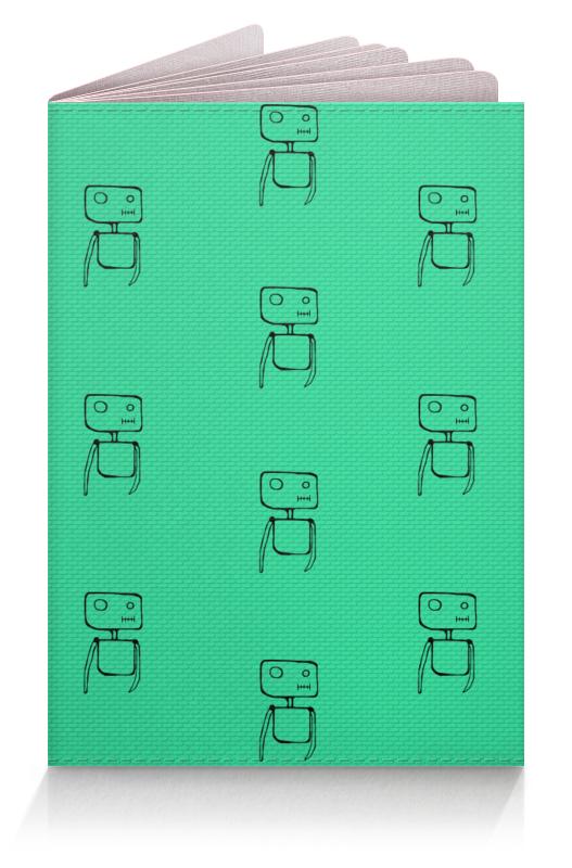 Обложка для паспорта Printio Обложка на паспорт маленькие роботы oldos комбинезон трансформер роботы