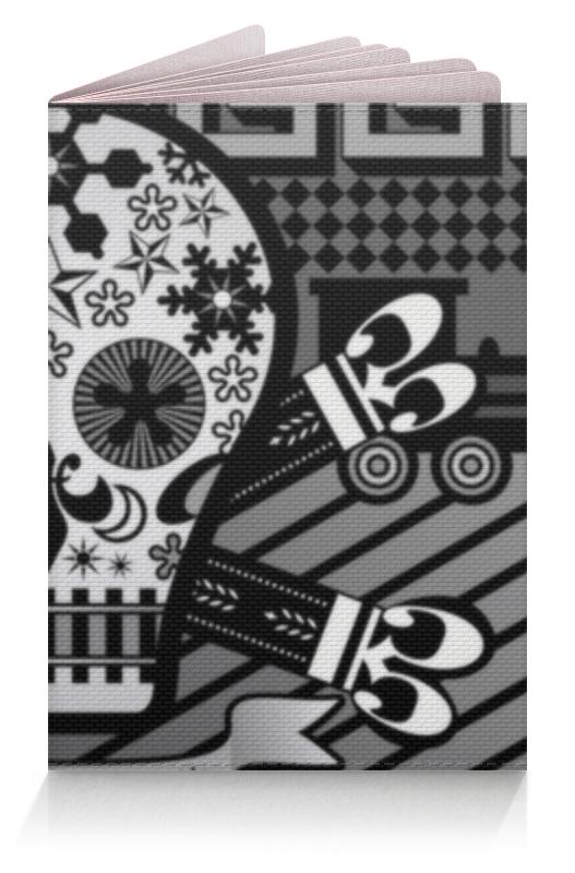 Обложка для паспорта Printio Череп обложка для паспорта printio бутылки