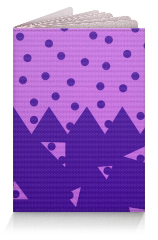 Обложка для паспорта Printio Падающие треугольники обложка для паспорта женская labbra цвет фиолетовый l054 0011