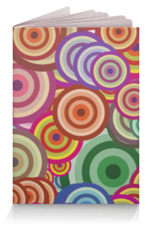 Обложка для паспорта Printio Цветные круги все цены