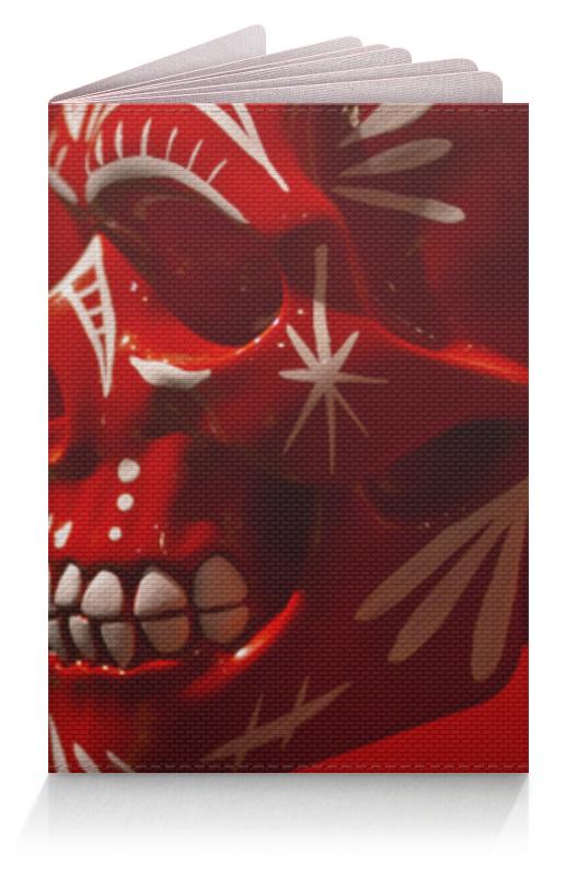 Обложка для паспорта Printio Череп (skull) classic 5 panels cotton snapback 3d god eyes plastic patch mens flat brim baseball cap hip hop hat and cap for men and women