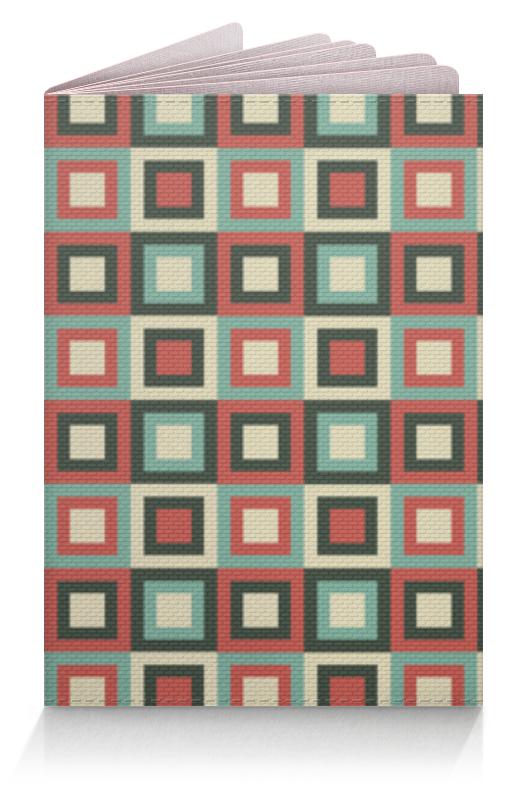 Обложка для паспорта Printio Квадраты шоколадка 35х35 printio квадраты