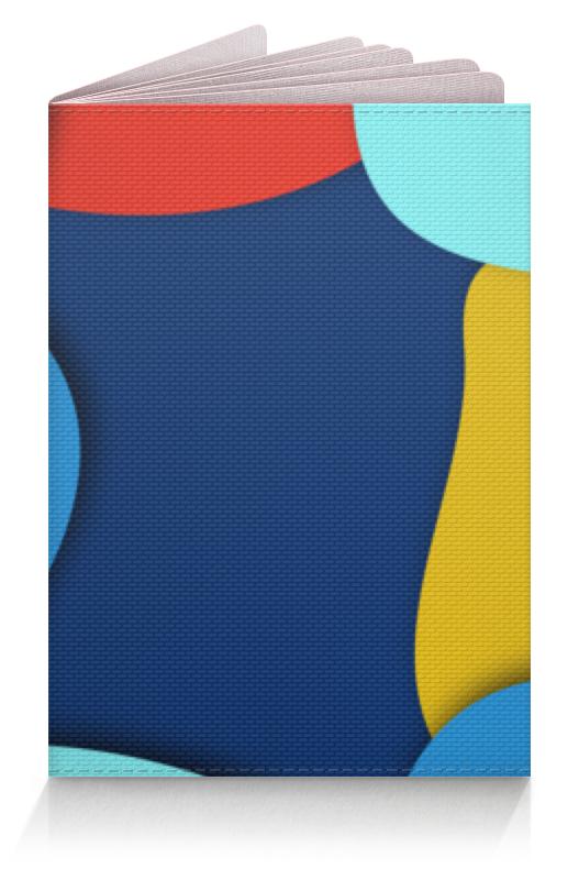 лучшая цена Обложка для паспорта Printio Разноцветный