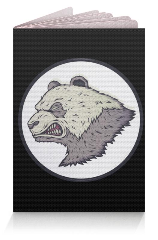 Обложка для паспорта Printio Angry panda / злая панда