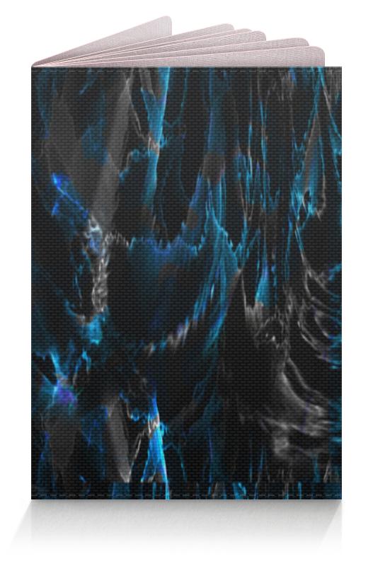 лучшая цена Printio Черно-голубая психоделика