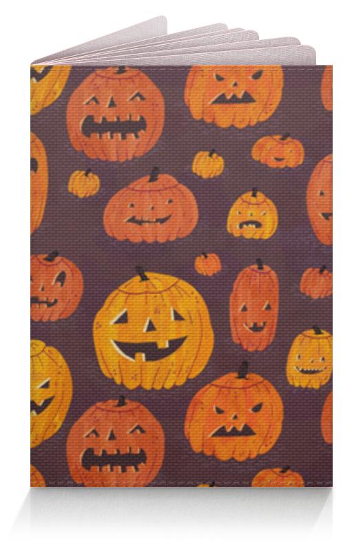 Обложка для паспорта Printio Тыквы (хэллоуин) ufeelgood organic pumpkin seeds органические семена тыквы 150 г