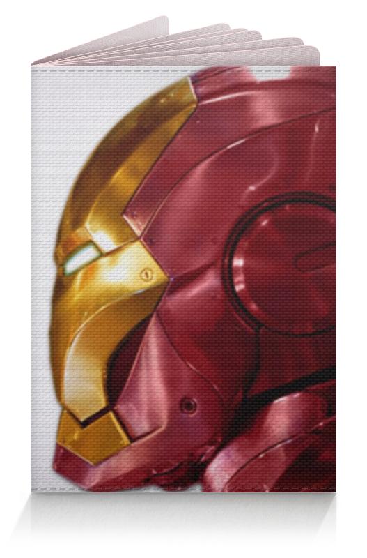 Обложка для паспорта Printio Железный человек и человек паук человек