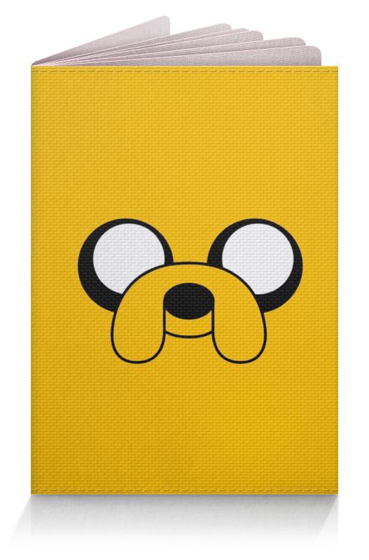 Обложка для паспорта Printio Adventure time детская футболка классическая унисекс printio финн и джейк adventure time
