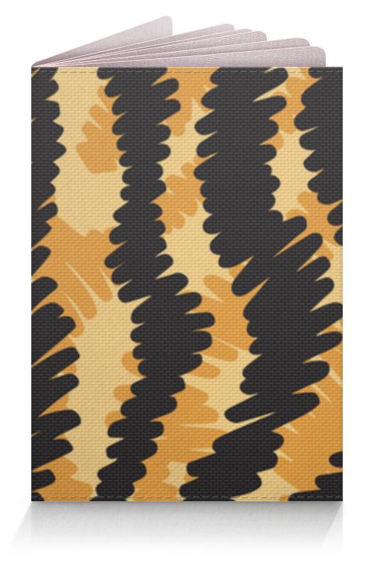 Printio Тигровый обложка для паспорта printio тигровый стиль