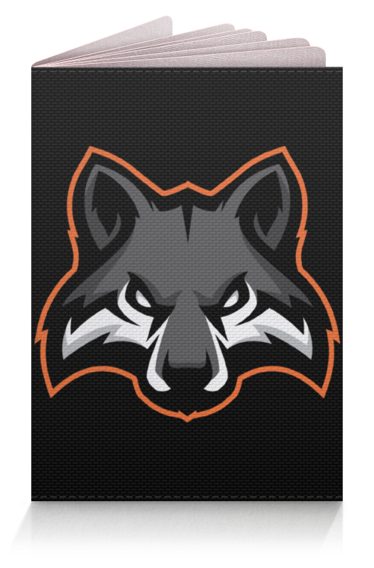 Обложка для паспорта Printio Wolf / волк