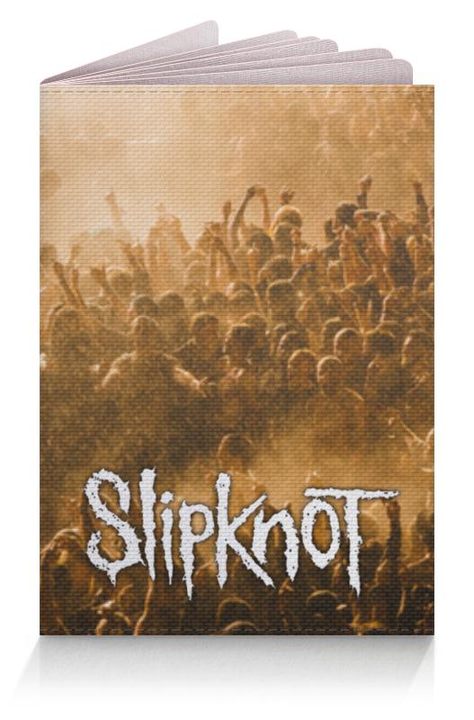 Обложка для паспорта Printio Slipknot