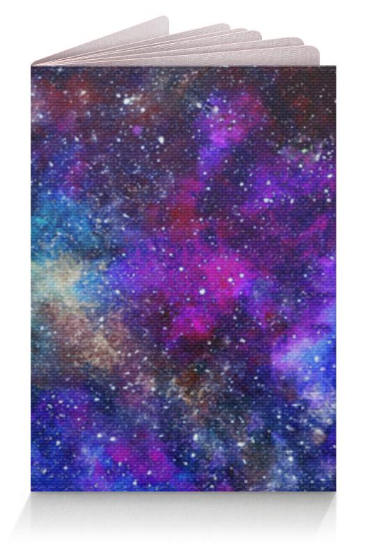 Обложка для паспорта Printio Космос (пурпурно-синий) обложка для паспорта printio космос внутри