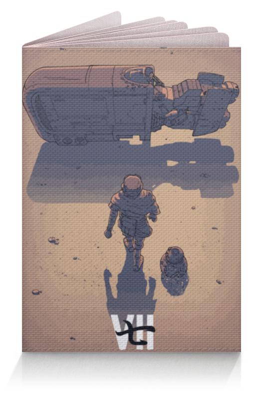 Обложка для паспорта Printio Star wars / akira ray's speeder/ спидер рэй