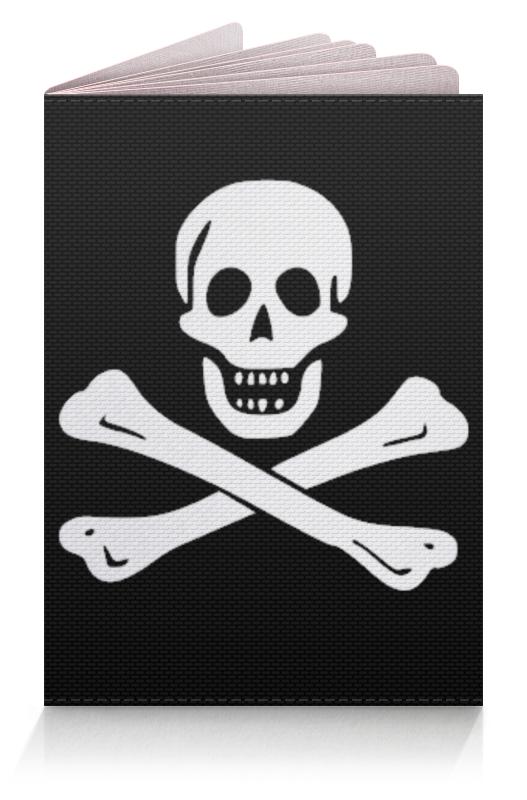 Обложка для паспорта Printio весёлый роджер - jolly roger плакат a2 42x59 printio весёлый роджер jolly roger