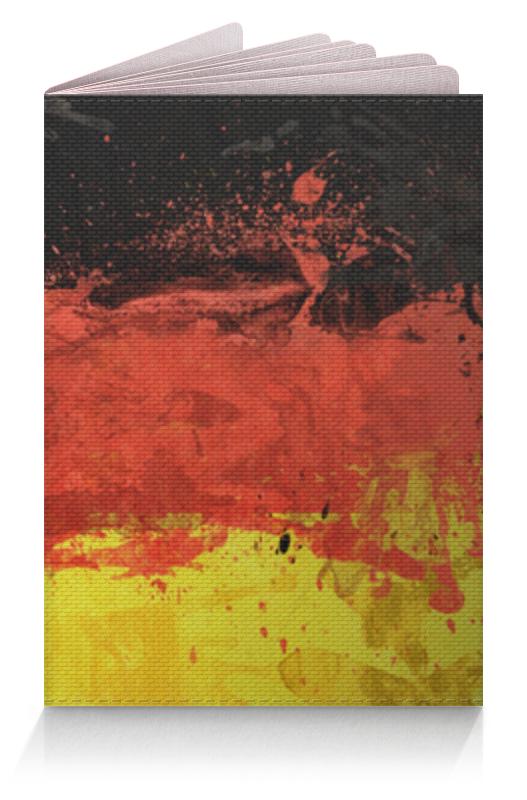 Обложка для паспорта Printio Германия обложка для паспорта printio демон сидящий