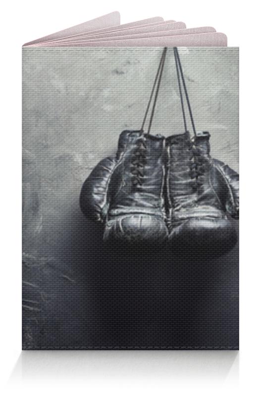 Обложка для паспорта Printio Боксерские перчатки лапы боксерские jivisport прямые е049
