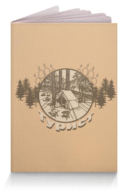 Обложка для паспорта Printio Турист томск куплю палатку турист полог где
