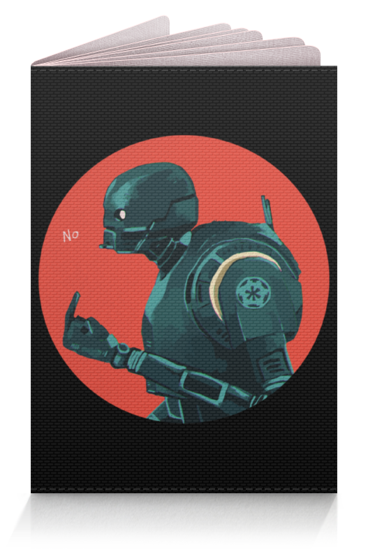 Обложка для паспорта Printio Star wars rogue one k2so/ изгой один к2со star wars rogue one ultimate sticker encyclopedia