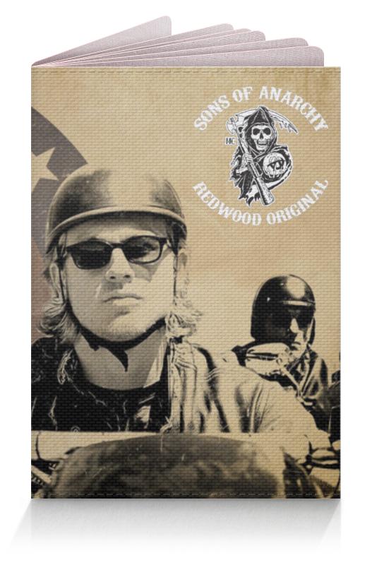 Обложка для паспорта Printio Сыны анархии / sons of anarchy чехол для iphone 6 глянцевый printio сыны анархии