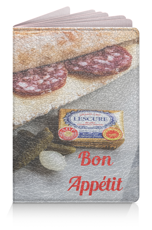 Обложка для паспорта Printio Паспорт bon appétit цена