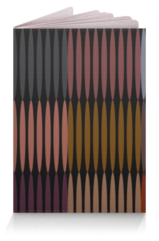Обложка для паспорта Printio Цветная абстракция обложка для паспорта printio абстрактный фон