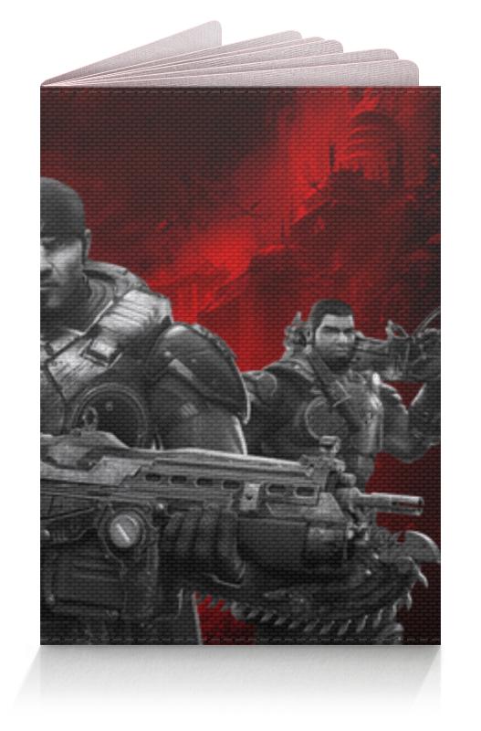 Обложка для паспорта Printio Gears of war art of war