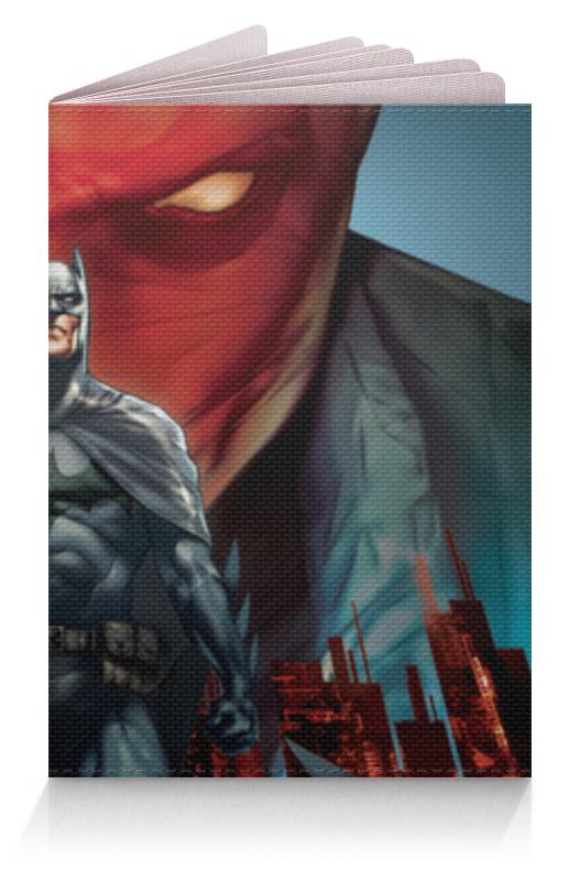 Обложка для паспорта Printio Бэтмен (batman) чехол для ноутбука 14 printio batman бэтмен