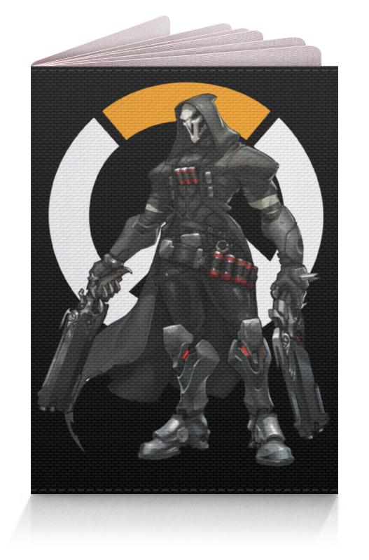 Обложка для паспорта Printio Overwatch reaper / жнец овервотч