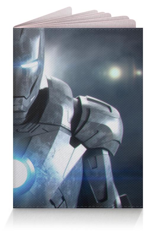 Обложка для паспорта Printio Железный человек (iron man) сумка printio железный человек iron man
