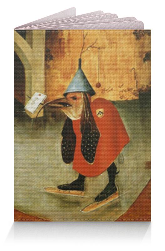 Обложка для паспорта Printio Иероним босх pr jb03 фрагмент триптиха искушение святого антония и босх museum parastone