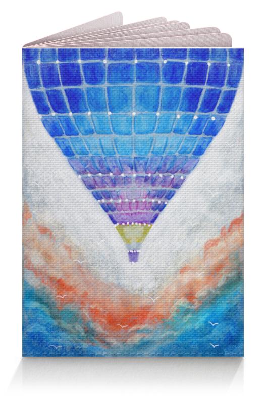 Обложка для паспорта Printio Воздушный шар. рисунок от руки. акварель чехол для iphone 8 объёмная печать printio воздушный шар рисунок от руки акварель