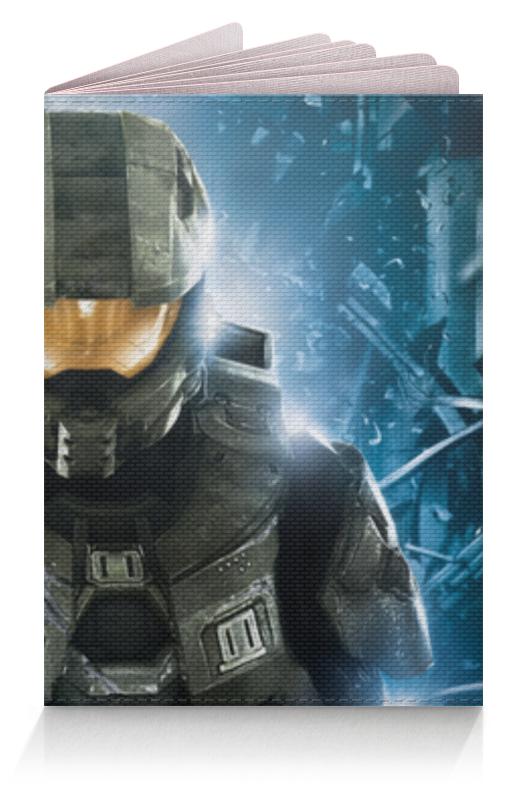Обложка для паспорта Printio Halo обложка для паспорта printio демон сидящий