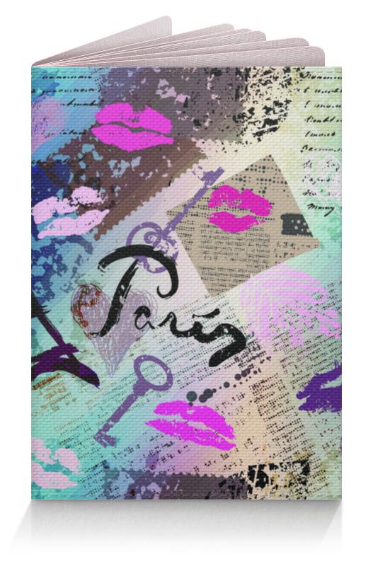 Обложка для паспорта Printio Париж (1) обложка для паспорта perfecto путешествие париж ps gl 0013