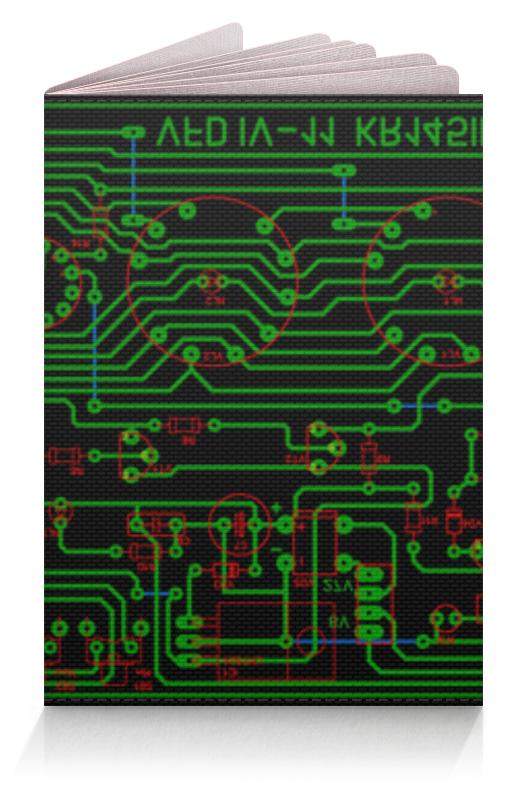 Обложка для паспорта Printio Печатная плата басыров м печатная машина роман