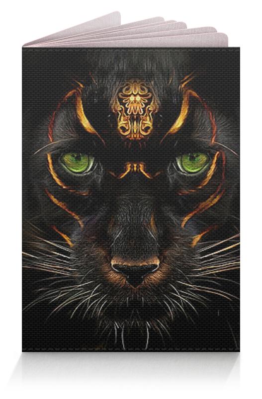 Обложка для паспорта Printio Пантера. фэнтези puzzle 1000 пантера гик1000 6551