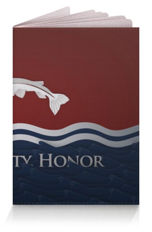 Обложка для паспорта Printio Игра престолов обложка для паспорта printio смертельная игра фэнтези