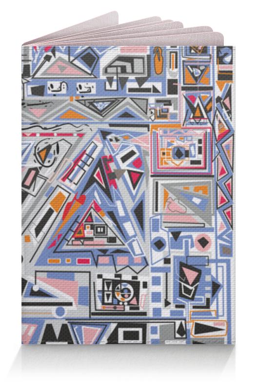Обложка для паспорта Printio Ташизм обложка для паспорта printio третий лишний