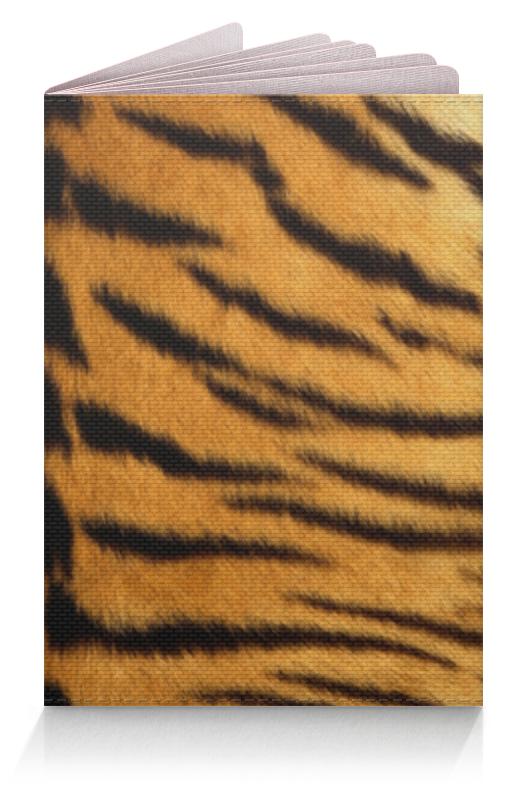 Обложка для паспорта Printio Тигровый стиль тигровый орех купить в москве