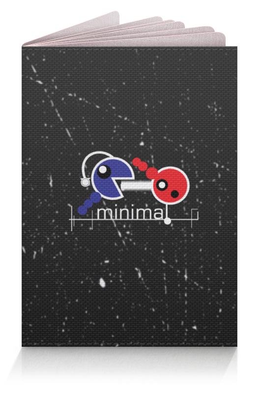 Обложка для паспорта Printio Минимал обложка для паспорта printio бутылки