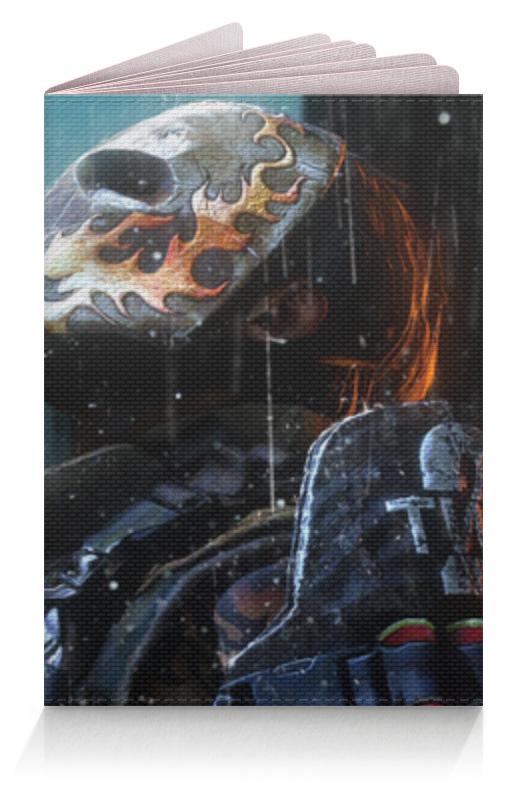 Обложка для паспорта Printio Эллиот салем (армия из двоих) подушка 40х40 с полной запечаткой printio эллиот салем армия из двоих
